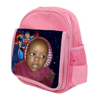 Personalised Kids School Backpack - Pink